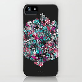 Qbert iPhone Case