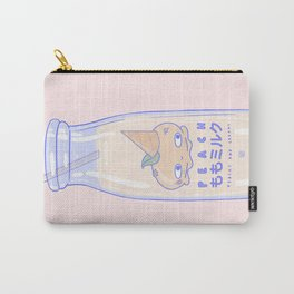 Peachy and Creamy Carry-All Pouch