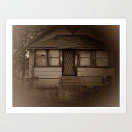 Back Home Art Print