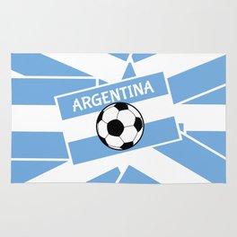 Argentina Football Rug