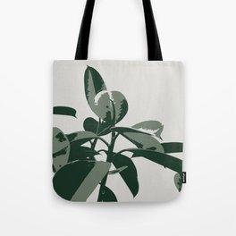 Retro House Plant Tote Bag
