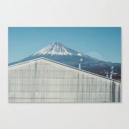 Mt. Fuji from the Shinkansen Canvas Print