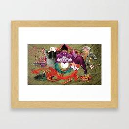 Magic Circus Framed Art Print