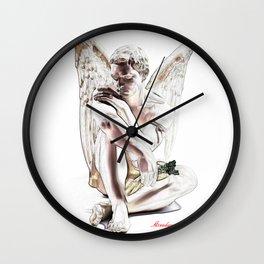 Angel's Rest ( El descanso del Ángel )  Wall Clock