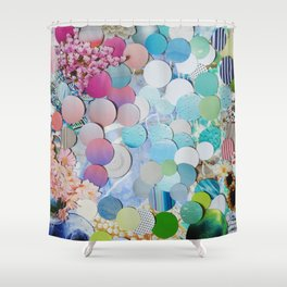 Blueberry Garden Shower Curtain