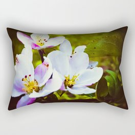 Apple Blossom Days Rectangular Pillow