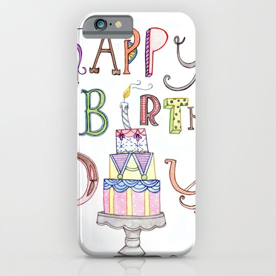 Happy Birthday iPhone & iPod Case