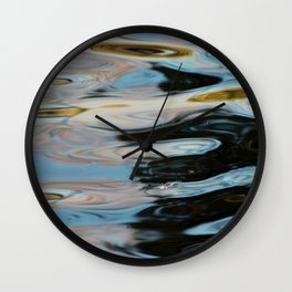 Abstract Water Surface Wall Clock