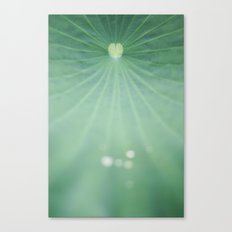 Love comes naturally Canvas Print