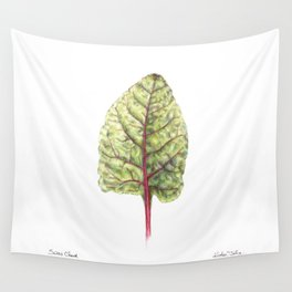 Swiss Chard Wall Tapestry