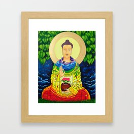 Rainbow Buddha Framed Art Print