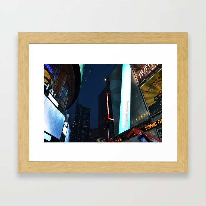 City I Framed Art Print