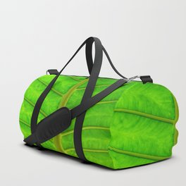Palm Print Duffle Bag