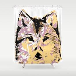 My Wolf Shower Curtain