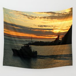 The End Of A Beautiful Day Wall Tapestry