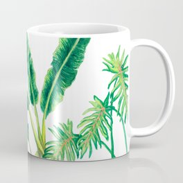 Tropical House Plants Coffee Mug