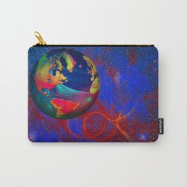 Fractal World Carry-All Pouch