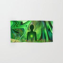 Heart Chakra Energy. Hand & Bath Towel