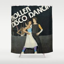 Roller Disco Dancing Shower Curtain