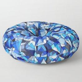 Fond Bleu Floor Pillow