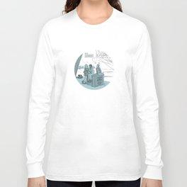 Walk Like A Dragon Long Sleeve T-shirt