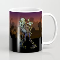 zombie Mugs featuring ZOMBIE! by Billy Allison