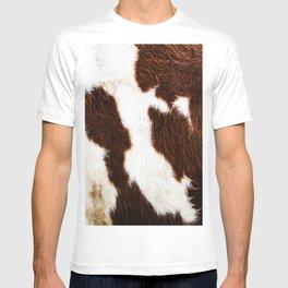 Cowhide Brown Spots T-shirt