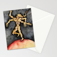 The Burning World Stationery Cards