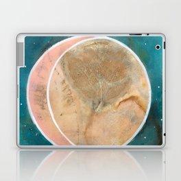 Pink Eco Print Moon Laptop & iPad Skin