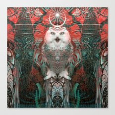 The Owls are Beautiful Canvas Print