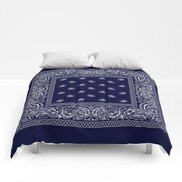 Bandana - Navy Blue - Southwestern Comforters