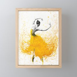 Daisy Dance Framed Mini Art Print