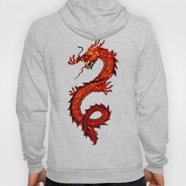 Mythical Red Dragon Hoody