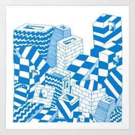 free radical Art Print