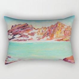 Broken Top Lake Rectangular Pillow