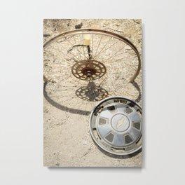 wheel & hub Metal Print