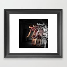 Move! Framed Art Print