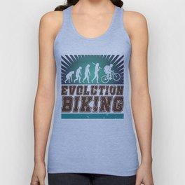 Evolution Biking Unisex Tank Top