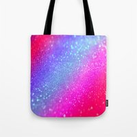 glitter Tote Bags featuring glitter by haroulita