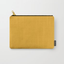 Bright Golden Yellow Inspired Coloro Mellow Yellow 034-70-33 Carry-All Pouch