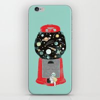 universe iPhone & iPod Skins featuring My childhood universe by I Love Doodle
