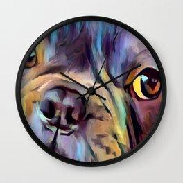 French Bulldog 4 Wall Clock