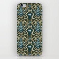 Slithering Snake Ikat iPhone & iPod Skin