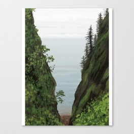 cape split Canvas Print