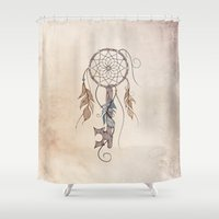 key Shower Curtains featuring Key To Dreams  by LouJah