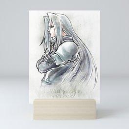 Sephiroth Artwork Final Fantasy VII Mini Art Print
