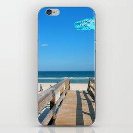 Public Beach Access iPhone Skin