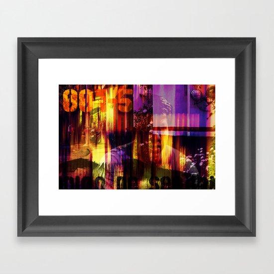 001-5 Framed Art Print