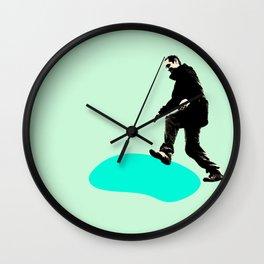Move forward Wall Clock