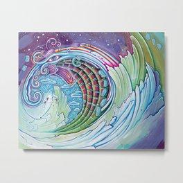 Wave of Awakening Metal Print
